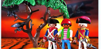 Playmobil - 3113v1 - soldiers / pirate