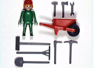 Playmobil - 3114s1v1 - Construction worker