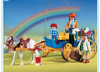 Playmobil - 3117v1 - Horse & Buggy