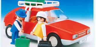 Playmobil - 3139v1 - Voiture de tourisme rouge