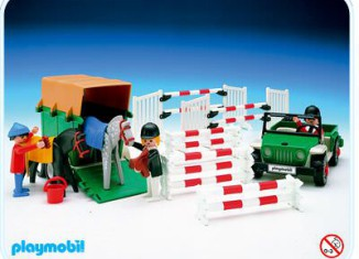 Playmobil - 3140v1 - Jeep with Horse Trailer