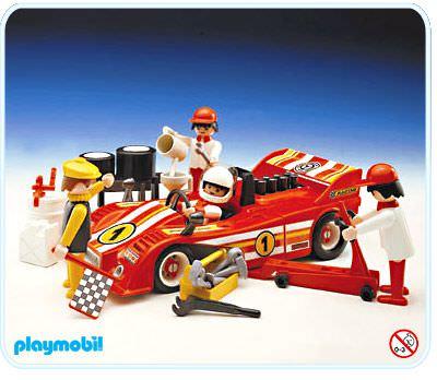playmobil race car