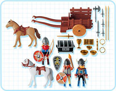 Playmobil 3152s2 - Viking Raiders - Back