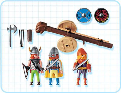Playmobil 3153 - Viking Warriors - Back