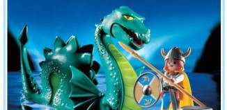 Playmobil - 3155s3 - Viking & sea serpent