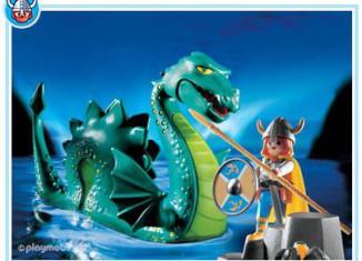 Playmobil - 3155s3 - Viking & sea serpent
