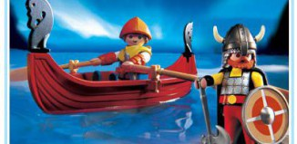Playmobil - 3156s2 - Viking Boat