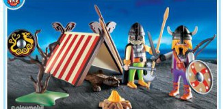 Playmobil - 3157s2 - Viking Shelter