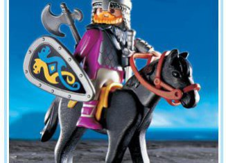 Playmobil - 3158 - Norseman with Horse