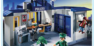 Playmobil - 3159s2 - Police Station with Jail