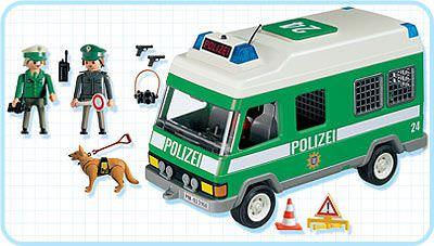 Playmobil 3160s2 - Intervention Team Truck - Back