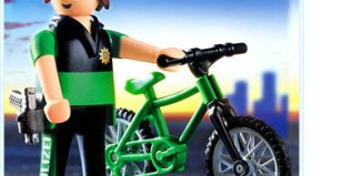 Playmobil - 3164s2 - Officer on Bicycle
