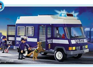 Playmobil - 3166 - Furgón de policía