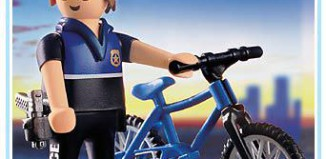 Playmobil - 3168 - Officer on Bicycle