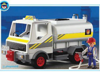 Playmobil - 3173 - Fuel Tanker