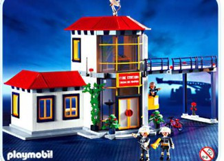 Playmobil - 3175s2v1 - Firemen / Fire station