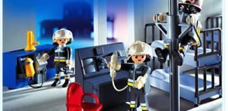 Playmobil - 3176 - Fire Command Center