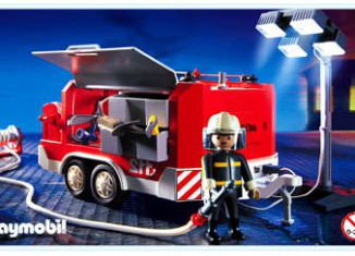Playmobil - 3178s2 - Fire Support Vehicle