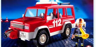 Playmobil - 3181s2 - Fire Leading Car