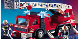 Playmobil - 3182s2 - Firemen / Ladder Truck
