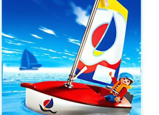 Playmobil - 3188s2 - Child With Sailboat
