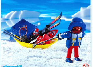 Playmobil - 3194 - Polar researcher with sled