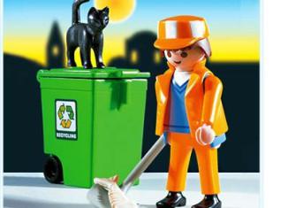 Playmobil - 3196 - Sanitation Man With Broom