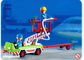 Playmobil - 3197 - Airport Service Vehicle