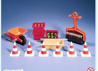 Playmobil - 3202s1v1 - Construction Accessories