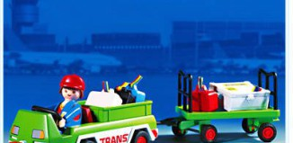 Playmobil - 3212s2 - Luggage Transport