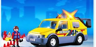 Playmobil - 3214 - Emergency Service Van