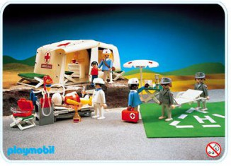 Playmobil - 3224 - Medical First Aid Tent