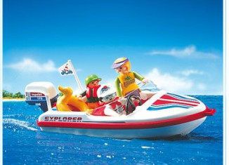 Playmobil - 3225 - Speed Boat