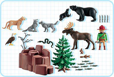 Playmobil 3228s2 - Wild Animals - Back
