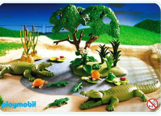 Playmobil - 3229s2 - Alligators Habitat