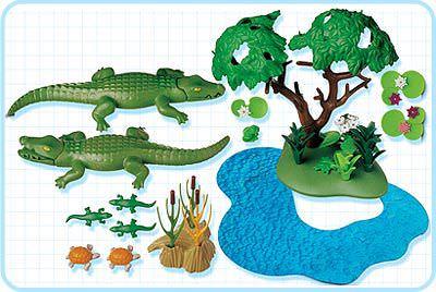 Playmobil 3229s2 - Famille d`alligators - Précédent