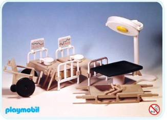 Playmobil - 3238s1 - Medical Accessories