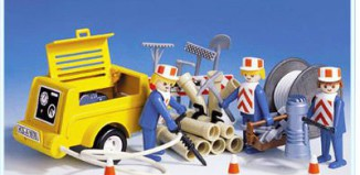 Playmobil - 3239s1 - Workers / generator