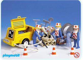 Playmobil - 3239s1 - Workers / generator