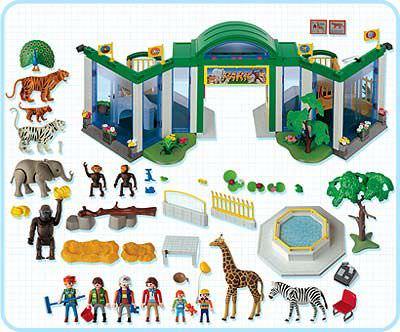 Playmobil 3240 - Zoo - Back