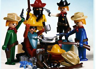 Playmobil - 3241s1v2 - Cowboys and Mexicans