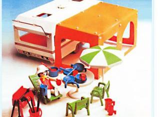 Playmobil - 3249s1v2 - Caravan / orange awning