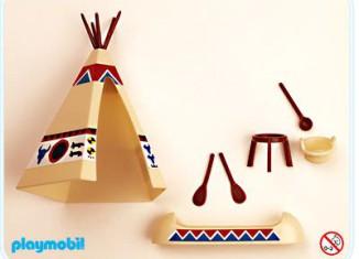Playmobil - 3252s1v1 - Tent / Canoe / Cooking Pots