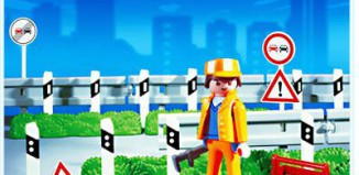 Playmobil - 3257s3 - Road Barriers