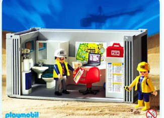 Playmobil - 3260s2 - Construction Crew's Office