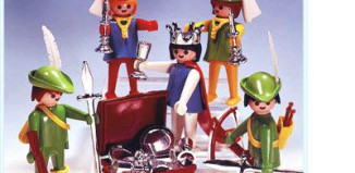 Playmobil - 3263s1 - Archers, Maidens & Queen