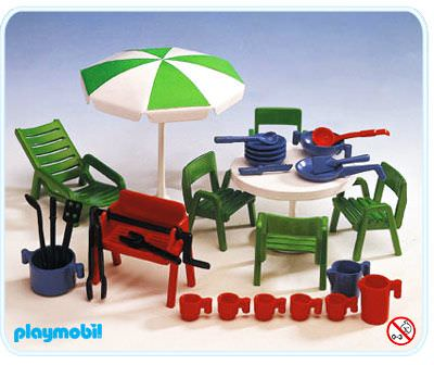 playmobil set 3279s1 garden furniture klickypedia. Black Bedroom Furniture Sets. Home Design Ideas