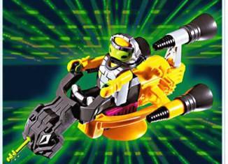 Playmobil - 3281s1 - Alien Hovercraft