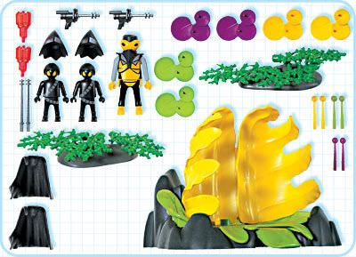 Playmobil 3283 - Alien Prison Pod - Back
