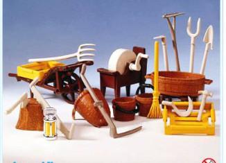 Playmobil - 3297 - Farmer's Accessories